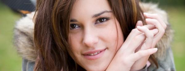 Porträt eines weiblichen Teenagers