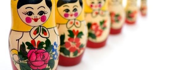 Matrjoschka - russische Puppen
