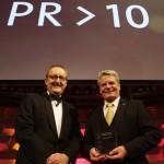 Joachim Gauck bei der Preisverleihung