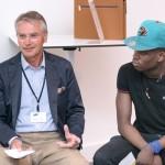 Speed-Dating mit Prof. Dr. Michael-Burkhard Piorkowsky, Uni Bonn