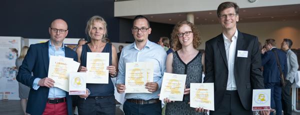 Comenius-Siegel 2016: Fünf Auszeichnungen